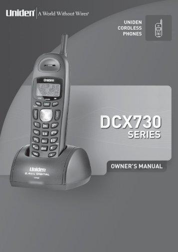 DCX730 - at Uniden