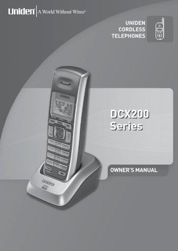 DCX200 Series - at Uniden