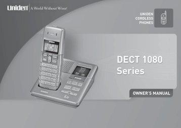 DECT1080-2 - at Uniden
