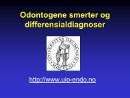 Klinisk smerte-utredning, 9. semester, Ørstavik