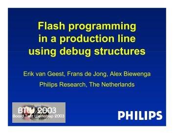 5-1 FransDeJong Philips-Slides.pdf - Board Test Workshop Home ...