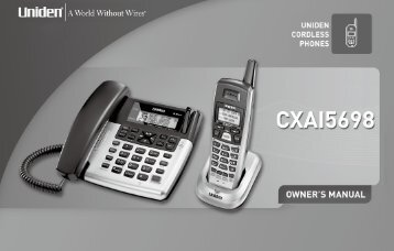 uniden phone 5 8 ghz manual daily instruction manual guides u2022 rh repairmanualspace today