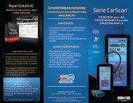 Caractéristiques exclusives RepairSolutions® - Innova Pro
