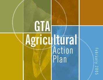 GTA Agricultural Action Plan - City of Toronto