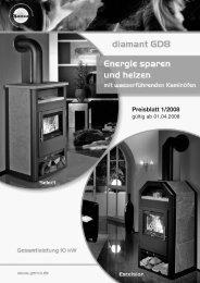 Preisblatt 1/2008
