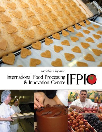 International Food Processing & Innovation Centre - City of Toronto