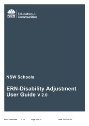 ERN-Disability Adjustment User Guide
