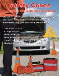 Collapsible With Blinking LED Beacon - EASE Fleet