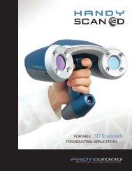 PORTABLE 3D Scanners - Proto3000