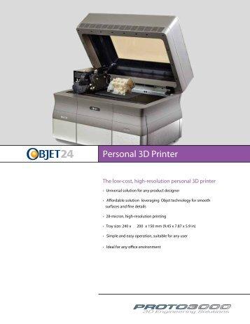 Personal 3D Printer - Proto3000