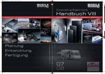 Handbuch VIII