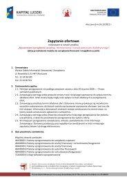 System ERP - Wyższa Szkoła Informatyki Stosowanej i Zarządzania ...