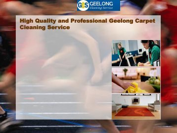 High Quality and Professional Geelong Carpet Cleaning Service