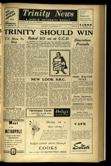 ca from - Trinity News Archive