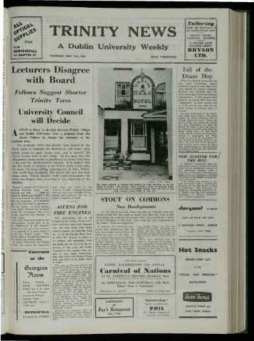 WEEK - Trinity News Archive