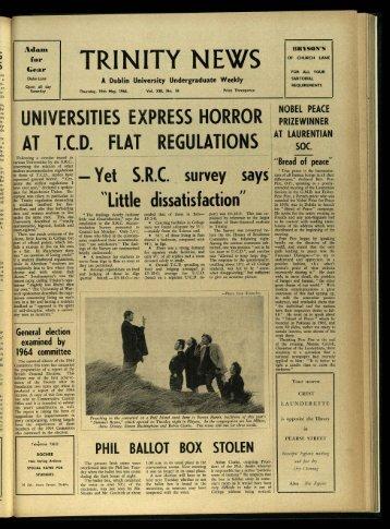 Trinity News Archive