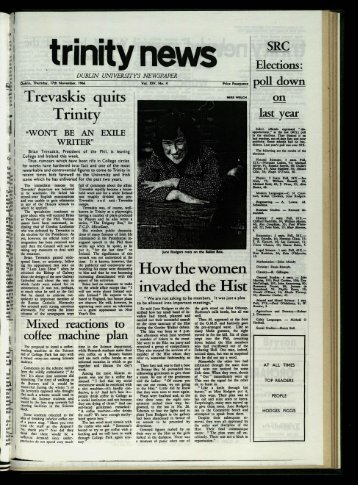 Trinity How the women invaded the Hist SR_C - Trinity News Archive