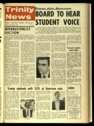 BOARD TO HEAR STUDENT - Trinity News Archive