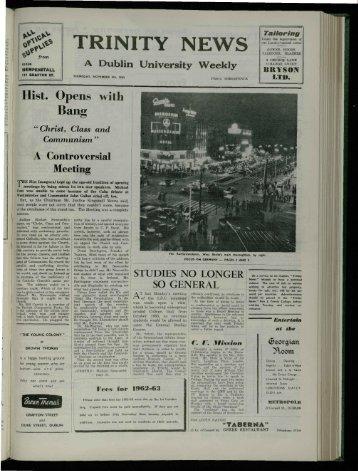 Ltd - Trinity News Archive