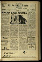 BOARD B,ANS WOMEN - Trinity News Archive