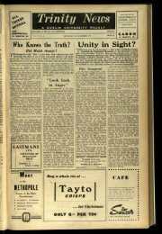 Tay to - Trinity News Archive