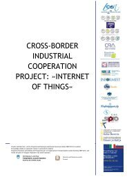 cross-border industrial cooperation project: »internet of ... - RRA SP