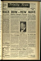 MACE ROW NEW MOVE r - Trinity News Archive