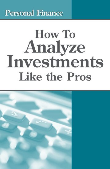 Analyze Investments