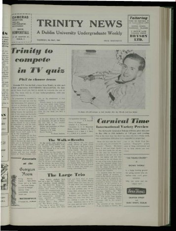 ts - Trinity News Archive