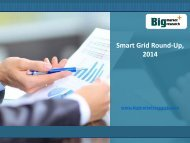 Gain insight on Smart Grid Round-Up Industry Growth, 2014