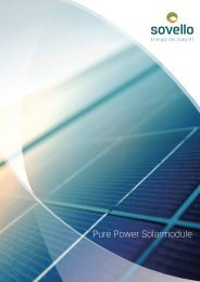 Pure Power Solarmodule