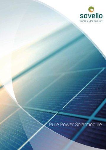 Pure Power Solarmodule