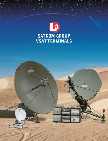 SATCOM GROUP VSAT TERMINALS - Narda