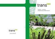 TransEco – ratkaisuja vähäpäästöiseen tieliikenteeseen www ...