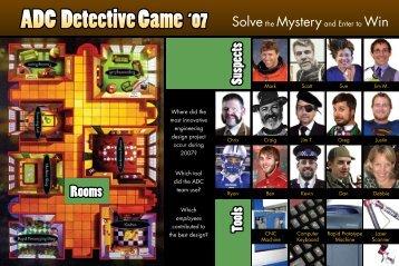 Detective Postcard - Advanced Design Concepts