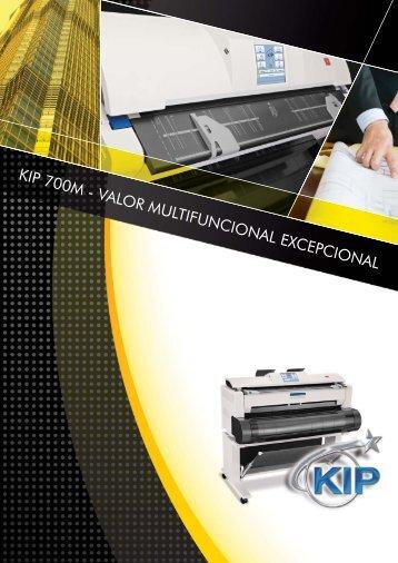 KIP 700M - VALOR MULTIFUNCIONAL EXCEPCIONAL