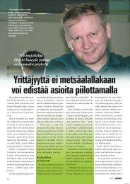 Heikki Kuusela puhuu avoimmuden puolesta s. 74