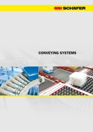 CONVEYING SYSTEMS - SSI Schäfer