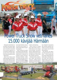 Power Truck Show veti lähes 15.000 kävijää Härmään