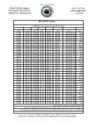 را ا ا Muslim World League ا ا ا The Islamic Fiqh Council ا Makkah al ...