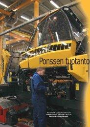 Ponssen tuotanto virtaviivaistuu s. 68