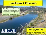 Landforms and Processes Wyrick annotated - Lower Yuba River ...