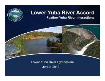 Paul Bratovich_Feather-Yuba Interactions - Lower Yuba River Accord