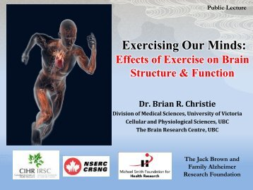 Exercising Our Minds - The Centre for Hip Health and Mobility