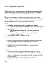 Musiikin keskeiset sisällöt vuosiluokille 3-4 - orivedenkoulut.net