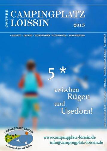 Campingplatz Loissin Katalog 2015