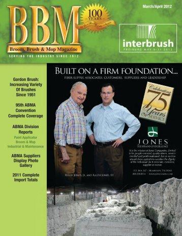 Broom, Brush & Mop Magazine - Broom, Brush and Mop