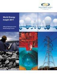 World Energy Insight 2011 - World Energy Council
