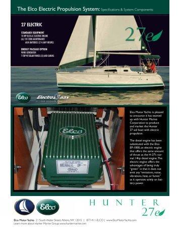 Hunter 27e