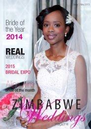 Zimbabwe Weddings - Issue 1- May 2015